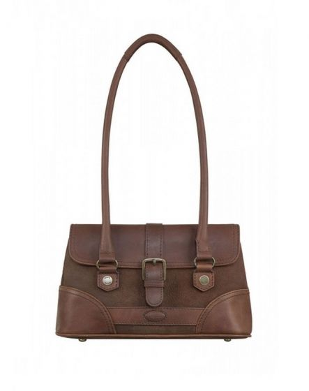 Dubarry Ladies Kenmare Strap Handbag Walnut