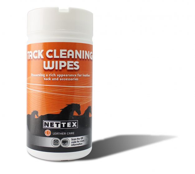 Nettex Tack Cleaning Wipes