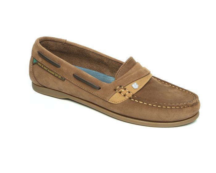 Dubarry Ladies Hawaii Deck Shoe Cafe