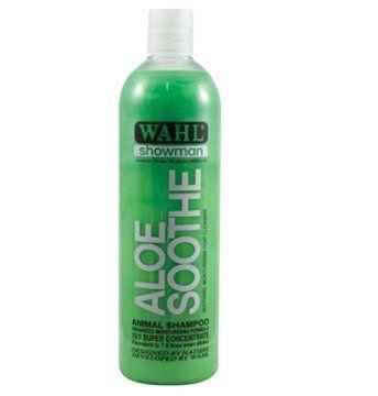 WAHL Showman Aloe Soothie Shampoo 500ml