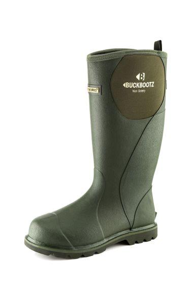 Buckler BuckBootz Non Safety Wellington Boot Olive BBZ5060