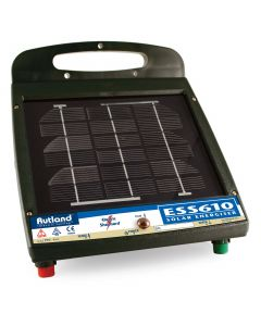 Rutland ESS610 Solar Powered Electric Fence Energiser