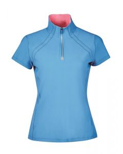 Dublin Ladies Maddison Short Sleeve Technical Airflow ¼ Zip Top - Chelford Farm Supplies