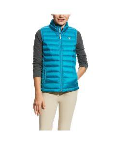 Ariat Girls Ideal Down Vest Atomic Blue
