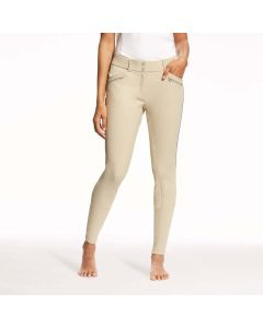 Ariat Ladies Ranier Grip Breeches Full Seat Tan