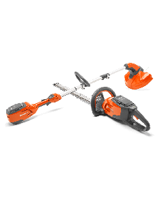 Husqvarna 115iL Battery Trimmer and 115iHD45 Battery Hedge Cutter Kit - Cheshire, UK