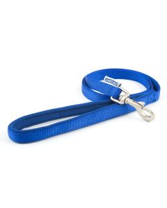 Ancol Heritage Nylon 1 metre Dog Lead Blue