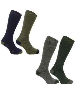 Hoggs of Fife Mens Country Long Socks 2 Pack - Cheshire, UK