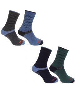 Hoggs of Fife Mens Tech Active Socks 2 Pack - Cheshire, UK
