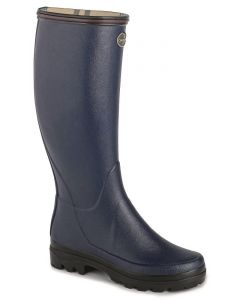 Le Chameau Ladies Giverny Wellington Boots Marine