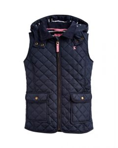 Joules Kids Girls Ellen Quilted Gilet