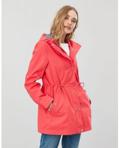 Joules Ladies Shoreside Waterproof A-Line Coat