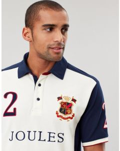 Joules Mens Apsley Embellished Polo Shirt
