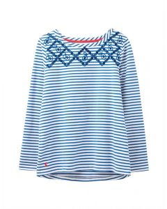 Joules Ladies Luxe Harbour Long Sleeve Jersey Top