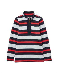 Joules Kids Boys Dale Half Zip Overhead Sweatshirt