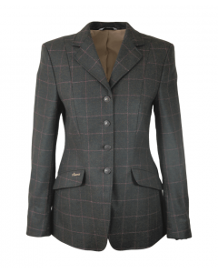 Pikeur Ladies Epsom Riding Jacket Tweed Green/Pink