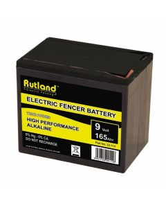 Rutland Electric Fencing 9 Volt Battery 165Ah