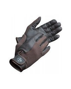 LeMieux Pro Touch Performance Riding Gloves Brown