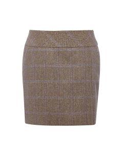 Dubarry Ladies Bellflower Tweed Skirt Woodrose