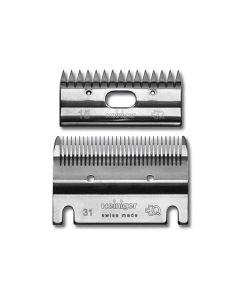 Heiniger Standard Clipper Blade Set