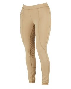 Dublin Childrens Performance Cool-It Gel Riding Tights Beige