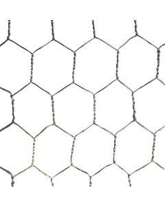Galvanised Wire Netting 600mm X 25mm 10m