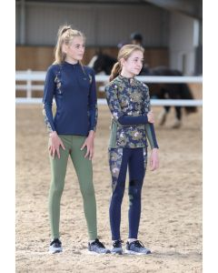 Shires Childrens Aubrion Newbury Long Sleeve Base Layer
