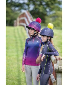 Shires Childrens Aubrion Hyde Park Cross Country Shirt