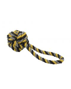 Ancol Jumbo Jaws Ball Tugger Dog Toy
