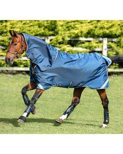 Horseware Rambo Tech Duo Turnout Rug Bundle Denim/Tan