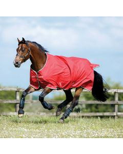 Horseware Amigo Hero 6 ACY Lite Turnout Rug 0g Red/White