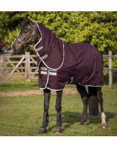 Horseware Amigo Hero Ripstop Plus Medium 200g Turnout Rug Fig/Silver
