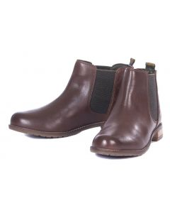 Barbour Ladies Abigail Chelsea Boot Wine