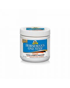 Absorbine Horseman's One Step Cream Leather Cleaner & Conditioner 425g