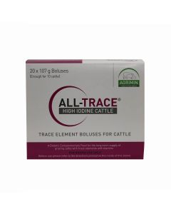 Agrimin All-Trace High Iodine Bolus for Cattle 107g 20 Pack