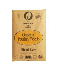 Allen and Page Organic Mixed Corn 20kg - Chelford Farm Supplies