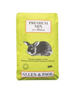 Allen and Page Premium Rabbit Mix 20kg - Chelford Farm Supplies