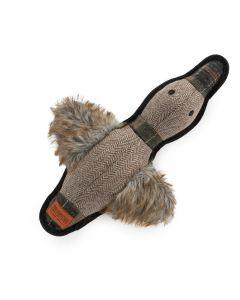 Ancol Heritage Tweed Duck Dog Toy - Chelford Farm Supplies