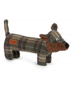Ancol Heritage Tweed Fox Dog Toy - Chelford Farm Supplies
