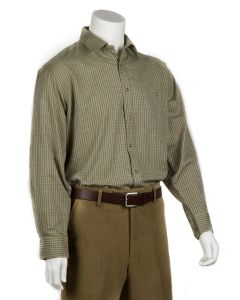 Bonart Mens Aylesbury Shirt Green