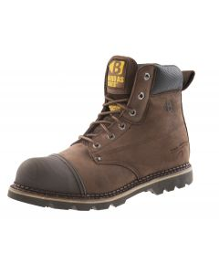 Buckler Steel Toe/Midsole Boot Brown B301SM