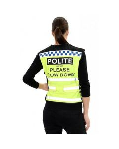 Equisafety Polite Yellow Hi Visibility Reflective Waistcoat
