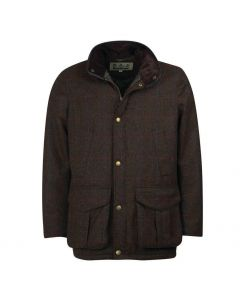 Barbour Mens Hereford Tweed Jacket Olive - Cheshire, UK