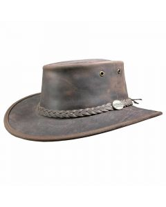 Barmah Leather Hat Bronco Brown - Chelford Farm Supplies