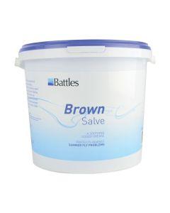 Battles Brown Salve Udder Grease - Chelford Farm Supplies