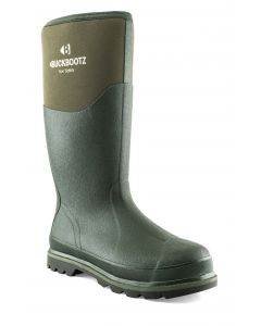 Buckler BuckBootz Non Safety Wellington Boot Olive BBZ5020