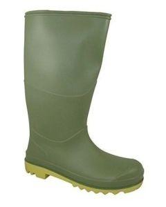 Berwick Youth Wellington Boot Green