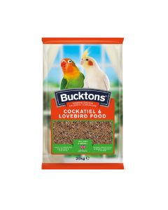 Bucktons Cockatiel and Lovebird Mix 20kg