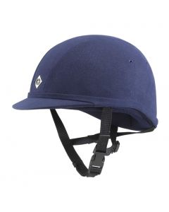 Charles Owen YR8 Riding Hat Navy Round Fit - Chelford Farm Supplies