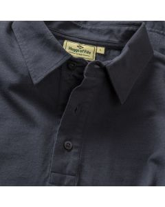 Hoggs of Fife Mens Crail Jersey Polo Shirt